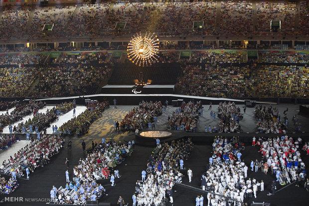 مراسم اختتامیه پارالمپیک ریو