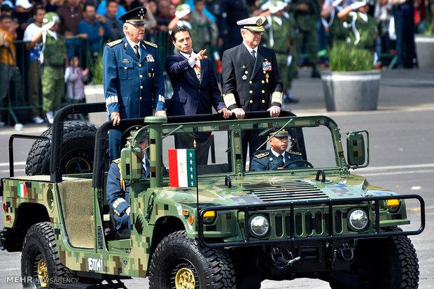 رژه روز استقلال مکزیک