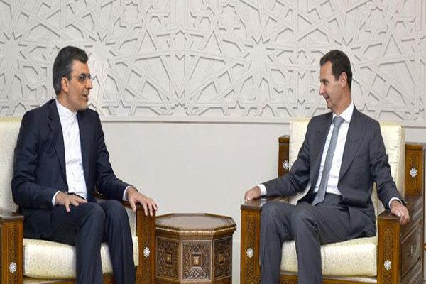 İranlı yetkili Şam'da Beşar Esad'la görüştü