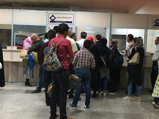 پرواز مشهد - تهران لغو شد