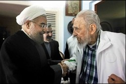 Ruhani, Fidel Casrto ile görüştü