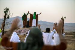 عرض تمثيلي لواقعة الغدير في مدينة قزوين