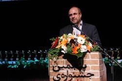 قالیباف در اختتامیه جشنواره تئاتر شهر