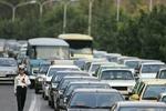 ترافیک نیمهسنگین در آزادراه کرج-تهران
