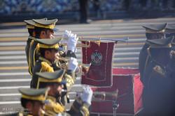 Tahran'da yapılan askeri geçit töreninden kareler