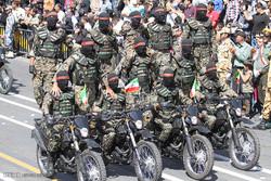 اصفہان  میں مسلح افواج کی فوجی پریڈ