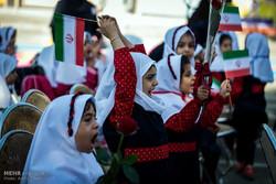 جشن غنچه ها و شکوفه ها در مدارس کشور برگزار شد/کلاس اولیها هفتهای یک روز به مدرسه میروند