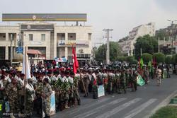 رژه نیروهای مسلح در میناب