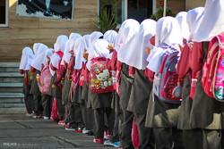 ۱۵ هزار دانش آموز چالوسی روانه مدرسه شدند