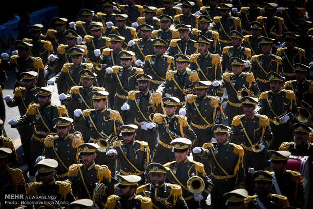 Tehran stages massive military parades