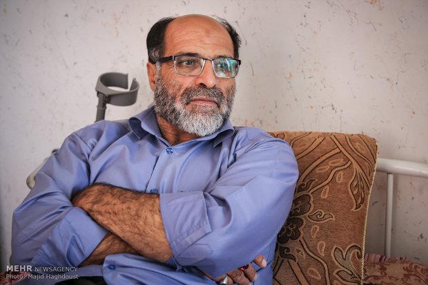 گفتگو با آقای میر تقی جانباز
