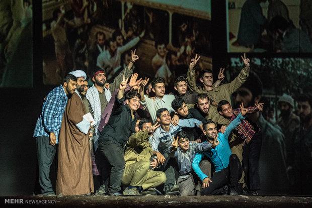 اجرای نمایش فصل شیدایی