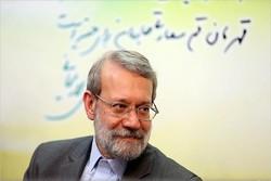 گفتگوی لاریجانی با شهردار قم و اعضای شورای اسلامی روستای وشنوه