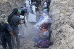 داعش التكفيري يكرر مجزرة اسبايكر ويعدم 50 عنصرا من القوات العراقية