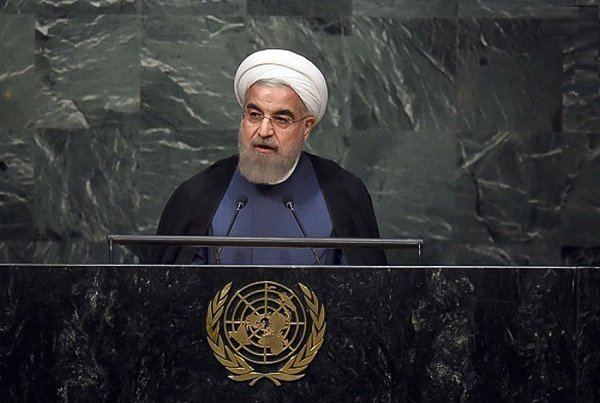 Ruhani, BM'de ABD'yi sert bir şekilde eleştirdi
