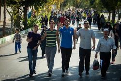 همایش پیاده روی خانوادگی در شاهرود به مناسبت هفته دفاع مقدس