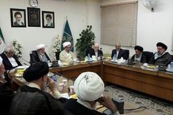 جلسه مشترک حزب موتلفه با جامعه مدرسین حوزه علمیه قم