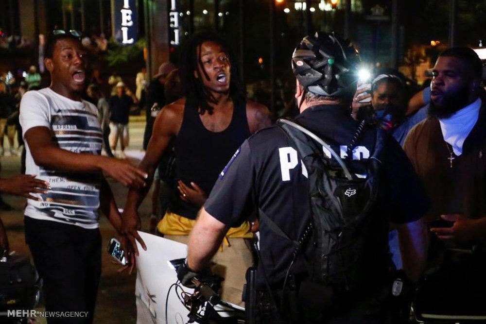 اعتراض و ناآرامی در کارولینای شمالی