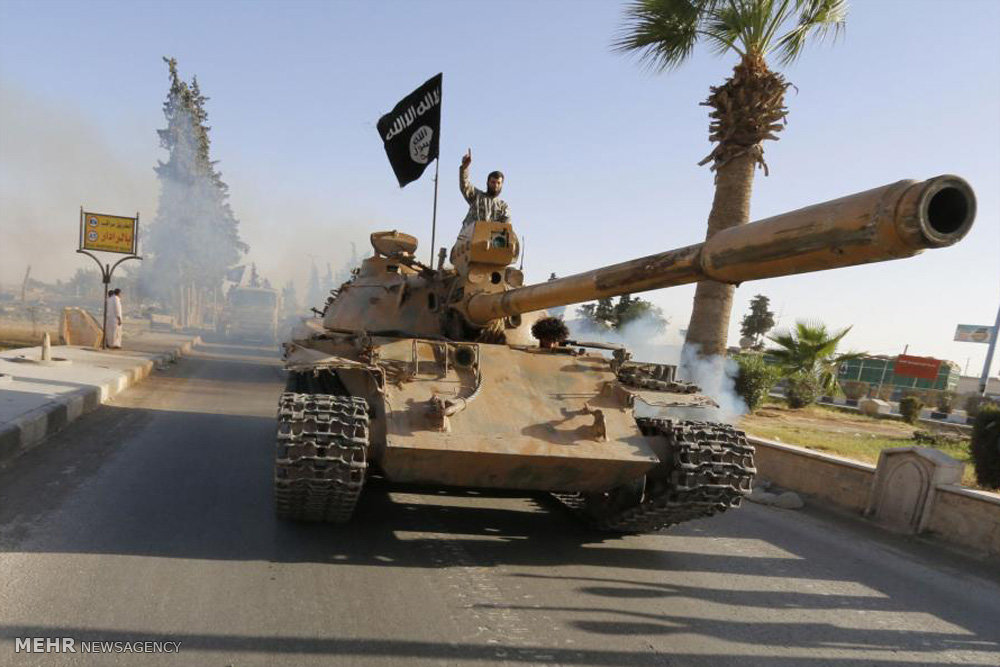 چهره های اعضای داعش