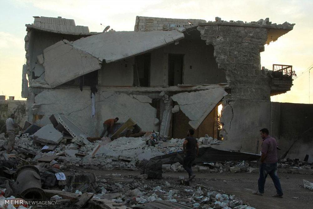 خاتمه آتش بس در سوریه