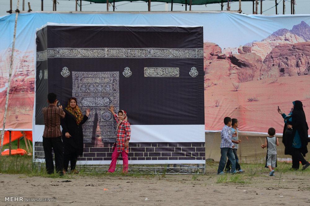 بازسازی واقعه غدیر خم در رودسر گیلان
