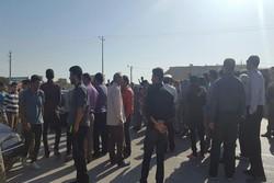تجمع مردم روستای الله وردیخان بجنورد