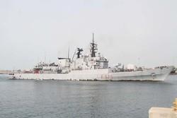 Italy's 'Euro' warship docks at Bandar Abbas