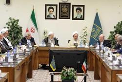 نشست مشترک اعضای شورای مرکزی مؤتلفه اسلامی با جامعه مدرسین