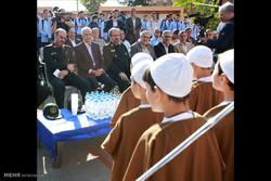 حضور وزیر دفاع در مراسم آغاز سال تحصیلی جدید