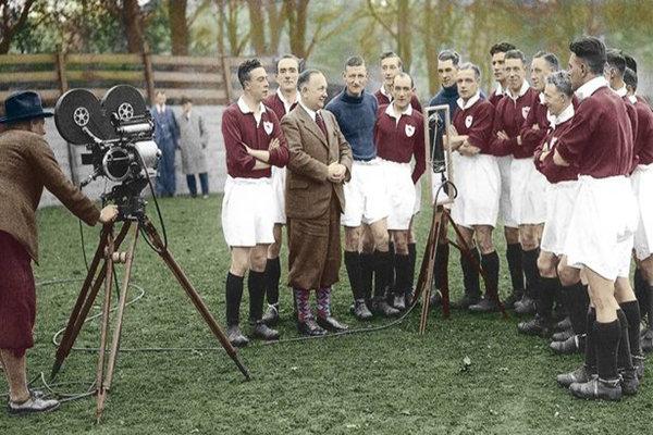 اولین بازی فوتبالی که از تلویزیون پخش شد مربوط به کدام تیم بود؟