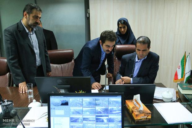 مركز التحكم المروري في طهران