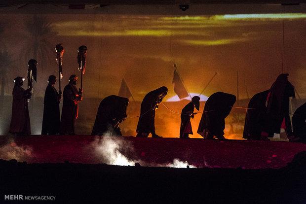 اجرای نمایش فصل شیدایی در رشت