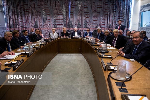 Iran, 5+1 FMs and EU  foreign policy chief meet in New York