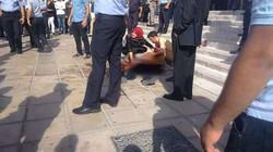 اغتيال الناشط السياسي الاردني ناهض حتر  في عمان