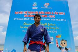 محمد حسین شیخ الاسلامی - عضو تیم ملی کوراش بازی های ساحلی آسیا - ویتنام