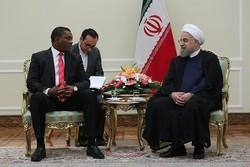 روحاني: تطوير العلاقات مع افريقيا من مبادئ سياسة ايران الخارجية