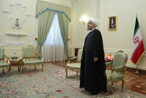 Rouhani, Kenyan speaker meet in Tehran