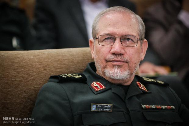 اللواء صفوي: السعودية لا تتوفر لديها الإمكانية لتشكل تهديداً ضد إيران