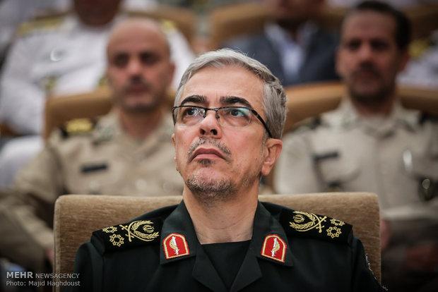 سرلشکر باقری پس از  سفر ۴ روزه به سوریه وارد تهران شد,