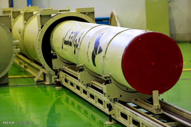افتتاح خط توليد موشك ذوالفقار نخستين موشك سوخت جامد نقطه زن