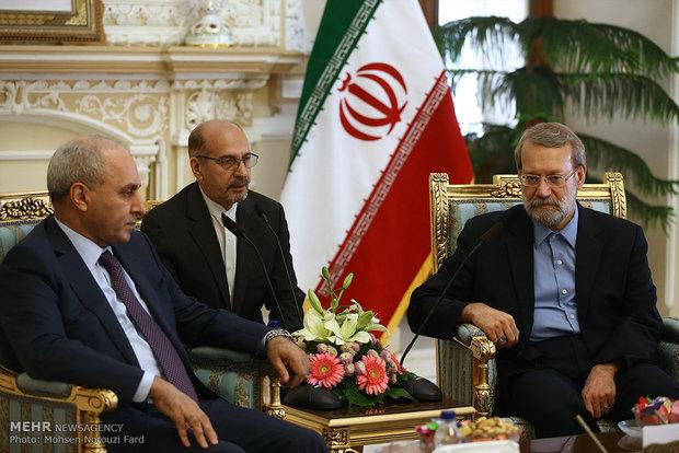 لاريجاني: الدعم الدولي للإرهاب زعزع الأمن في سوريا والعراق