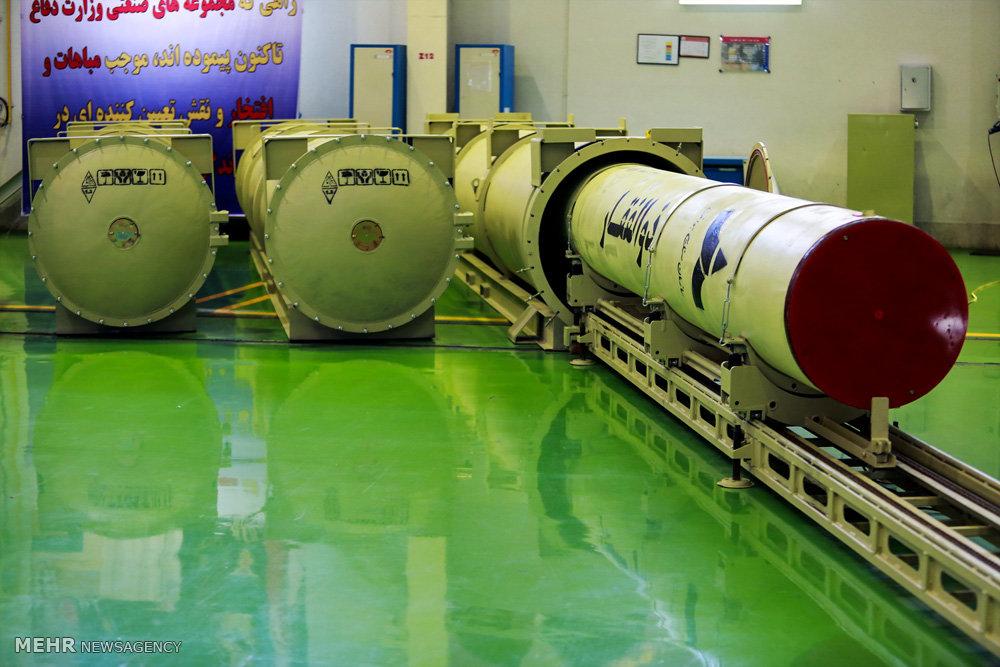 افتتاح خط تولید موشک ذوالفقار نخستین موشک سوخت جامد نقطه زن