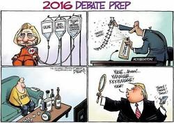 2016 debate prep.