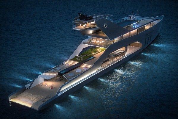 فیلم/ مجلل ترین قایق تفریحی دنیا را ببینید