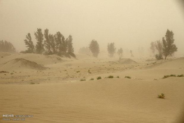 وزش باد خیلی شدید در سیستان وبلوچستان/احتمال جاری شدن روان آب