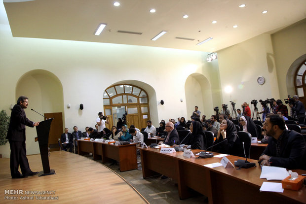 Press conference of FM spokesman