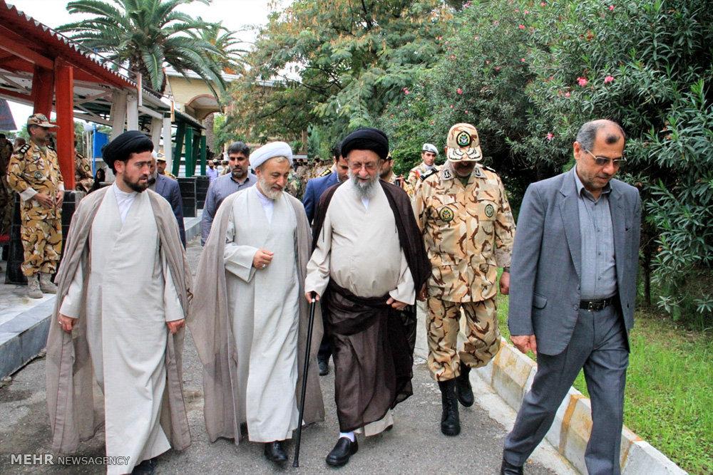 صبحگاه مشترک نیروهای مسلح استان گلستان