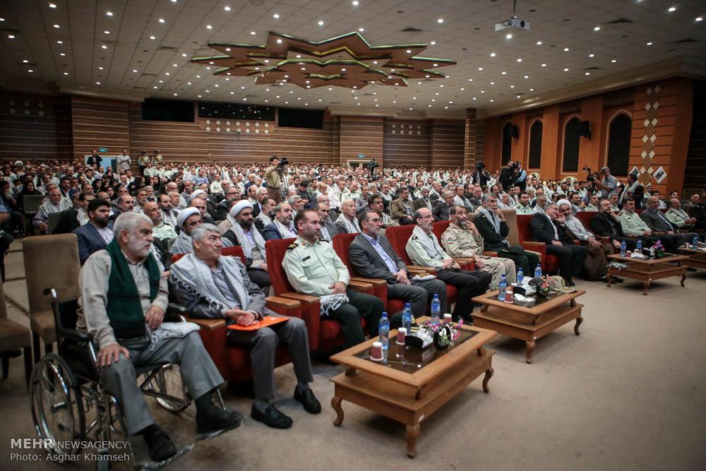محفل انس پیشکسوتان عرصه جهاد و شهادت ناجا