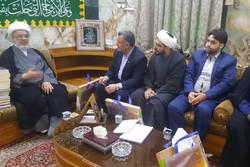دیدار اعضای ستاد موکب حرم حضرت معصومه(س) با تولیتهای عتبات عراق