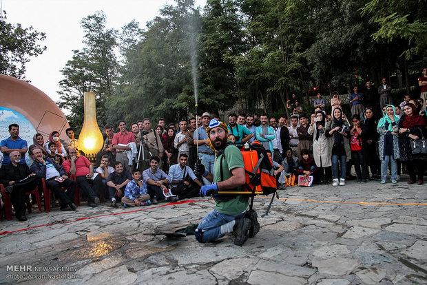 گروه آناهیتا سقز چهار عنوان جشنواره تئاتر خیابانی کرکوک راکسب کرد